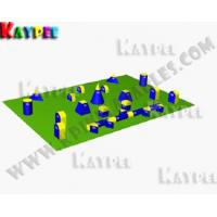 Wholesale 5 Man Standard Package,Inflatable paintball Bunker filed, paintball arena KPB013 from china suppliers
