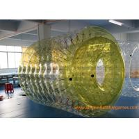 Wholesale 2.7*2.4*1.8M Adults Inflatable Wate Roller , Inflatable Water Games Ball Toys with CE from china suppliers