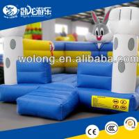 Wholesale commercial inflatable bouncer, indoor inflatable trampoline from china suppliers