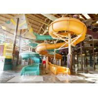 Wholesale Adult Spiral 12m Swimming Pool Water Slide from china suppliers