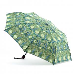 Printed Flat Mini Manual Open Umbrella , Easy Open Close UmbrellaPlastic Handle