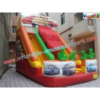 Wholesale OEM Inflatable Big Commercial Inflatable Slip and Slide Combo Rental for  family fun from china suppliers