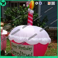 Wholesale Advertising Inflatable Cup Cake Replica/Promotional Cup Cake Model from china suppliers