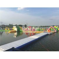 Wholesale Seels Theme Inflatable Floating Water Park Durable Inflatable Amusement Park from china suppliers