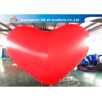 Giant Inflatable Holiday Decorations Hanging Heart Helium Balloons
