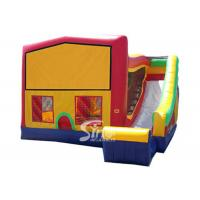 Wholesale PVC Tarpaulin Inflatable Bounce Houses With Slide Multifunctional from china suppliers