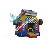 Buy cheap Inflatable racing car bouncer,inflatable digital printed bouncer,mini bouncy from wholesalers