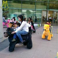 Wholesale Hansel Factory price coin operated animal rides mall car for kids from china suppliers