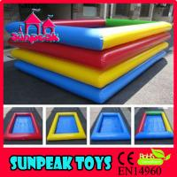 Wholesale P-024 Inflatables Pool Equipment PVC Pool from china suppliers