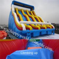 Wholesale swimming pool slide , inflatable pool slide , water slide pool , inflatable slide for pool from china suppliers