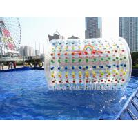 China Commercial Grade PVC Inflatable Water Roller Ball for water sports on sale