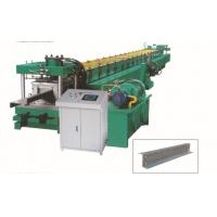 Wholesale Interchangable CZ Purlin Roll Forming Machine , Metal Stud Roll Former Various Sizes from china suppliers