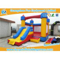 China Plato PVC Mini Inflatable Bouncy Castle Inflatable Bouncers For Toddler With Full Printing on sale