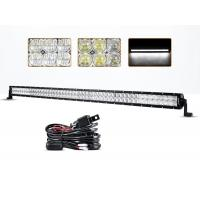 Wholesale 54 Inch 300 Watt 5D 4x4 Off Road LED Light Bar 30000 Hours Life Span from china suppliers