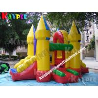 Wholesale Mini combo for kid,inflatable combo game,fun bouncer with slide obstacle KCB055 from china suppliers