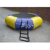 Wholesale Children Aqua Round Inflatable Water Game PVC Floats For Hotel Promotion from china suppliers