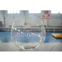 Quality Clear TPU Inflatable Water Walking Ball With Durable Tizip Zipper for sale