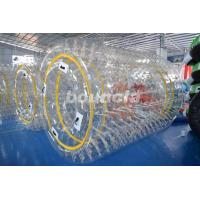 Wholesale 0.8mm/1.0mm PVC Material Transparent Inflatable Water Roller from china suppliers