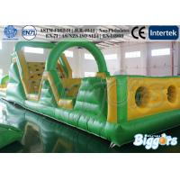 Wholesale Fun Commercial Inflatable Obstacle Bouncing Games For Children from china suppliers