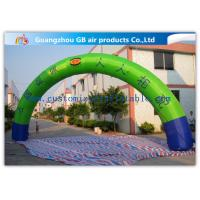 Wholesale Promotion Semicircle Inflatable Start Finish Arch 9m Span Customized Size from china suppliers