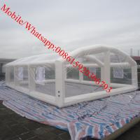 Wholesale inflatable crystal bubble tent inflatable house tent inflatable church tent from china suppliers