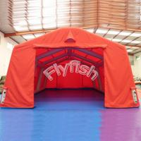 China clear tent plastic on sale