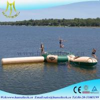 Wholesale Hansel perfect plastic kids inflatable pool and slide for family from china suppliers
