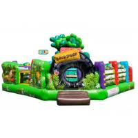 Wholesale Backyard Animal Kingdom Club Inflatable Bounce House Combo With Multi Color from china suppliers