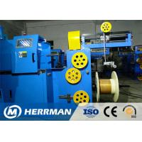 Triple Layer Concentric Cable Taping Machine Speed Up To 2200RPM PLC Control