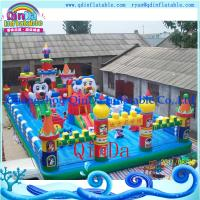 Wholesale QinDa Inflatable PVC inflatable castle ,bouncy castle ,jumping castle from china suppliers