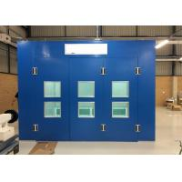Wholesale Commercial Side Draft Spray Booth With Ceiling / Fibreglass Filter Purification System from china suppliers