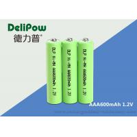 Wholesale NIMH Rechargeable Batteries Aa 1.2 V 600mah For LED / Electric Bike from china suppliers