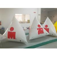 Wholesale White Large Inflatable Buoys Hand Printing CE / UL Air Pump And Repair Kit from china suppliers