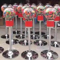 Wholesale Coin Operated Gumball Gashapon Capsule Toys / Candy Spiral Vending Machine from china suppliers
