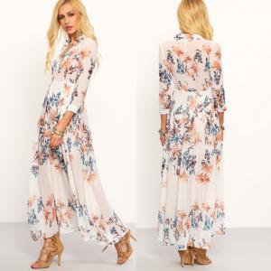 Wholesale 2018 New Style Chiffon Bohemian Long Dress from china suppliers