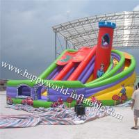 Quality inflatable chimney slide , inflatable dry slide ,inflatable slide for sale