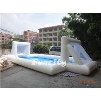 Wholesale Big inflatable soccer ball / Inflatable soccer field 0.6mm PVC Tarpaulin from china suppliers