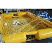 Buy cheap Inflatable water soccer field,football playground from wholesalers