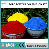 Wholesale Hammer Texture Metallic Red Powder Coat, Reliable Powder Coated Paint For Metal from china suppliers