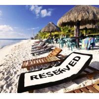 Reusable Mesh Vinyl Banner Digital Printing Various Designs For Beach Chair And Banners
