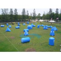 Wholesale Paintball Shooting Cage Arena Paintball Bunker Inflatable Security Guarantee from china suppliers