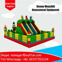 Quality inflatable minions bouncy castle/custom printed bouncy house/large bouncy castles for sale