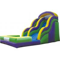 Wholesale Outdoor Commercial Plastic LLDPE Long Water Park Slides For Youth / Adult from china suppliers