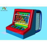 Red Blue Multi - Functional Inflatable Sports Games Footballs Penalty Play Games