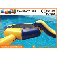 Wholesale Great Fun Inflatable Floating Water Toys Jumping Pad , 15 Foot Water Trampoline from china suppliers
