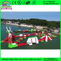 Wholesale 2016 best selling products inflatable amusement water theme floating park rides Inflatable aqua park from china suppliers
