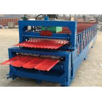 Wholesale 5.5KW High Speed Roof Panel Roll Forming Machine With High Precision In Cutting from china suppliers