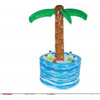 Wholesale 48 Inch PVC Inflatable Palm Tree Cooler  Inflatable Drinks Cooler Tray 0.25mm from china suppliers
