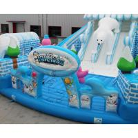 Wholesale Outdoor Snow world design giant inflatable bouncer jumping castle from china suppliers