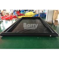 China Air Sealed Type Inflatable Car Wash Mat Water Collector Boarding With Drain on sale